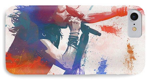 Colorful Steven Tyler Paint Splatter IPhone 7 Case