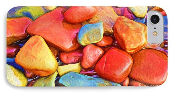 Colorful Stones IPhone Case