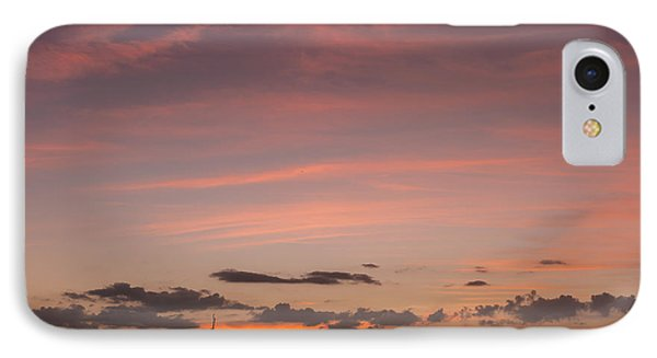 Colorful Sunset Over The Wetlands IPhone Case