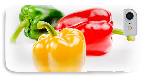 Colorful Sweet Peppers IPhone Case