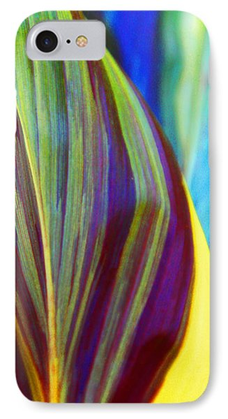 Colorful Ti Leaves IPhone Case