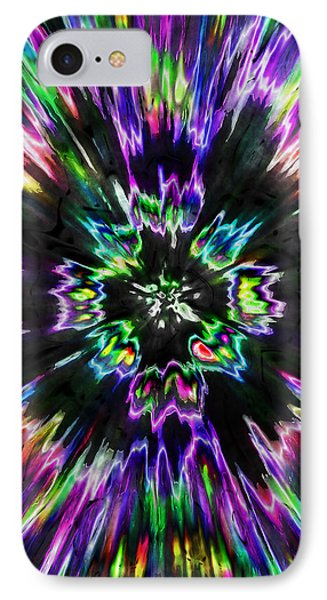 Colorful Tie Dye Abstract IPhone Case