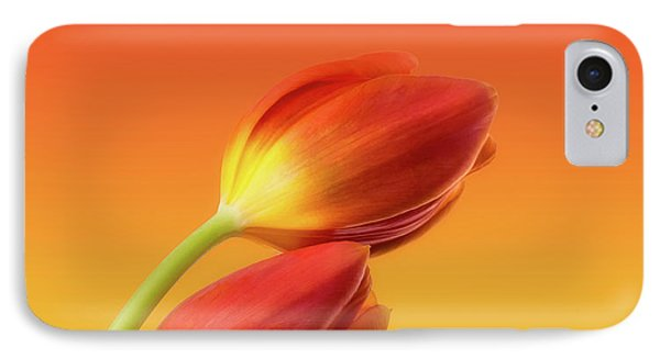 Floral iPhone 7 Case - Colorful Tulips by Wim Lanclus