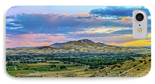 Colorful Valley IPhone Case by Robert Bales