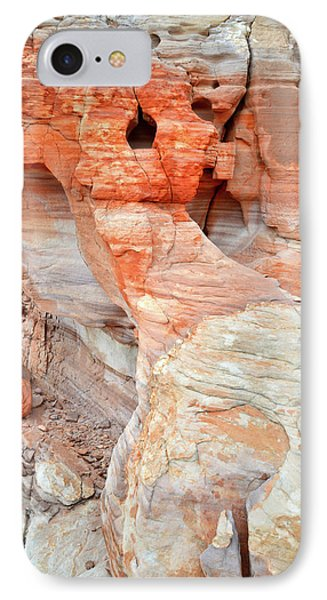 IPhone Case featuring the photograph Colorful Wall Of Sandstone In Valley Of Fire by Ray Mathis