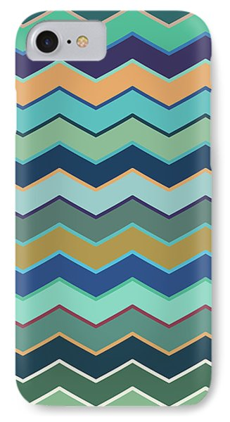 Colorful Wave II IPhone Case by Amir Faysal
