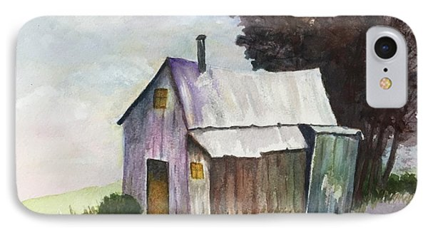Colorful Weathered Barn IPhone Case