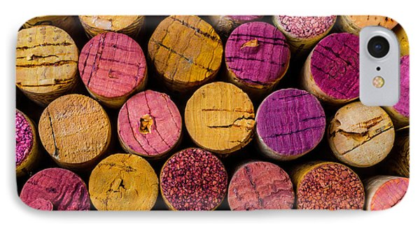 Colorful Wine Corks IPhone Case by Garry Gay