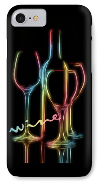 Colorful Wine IPhone Case
