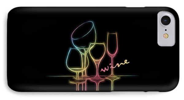 Colorful Wineglasses IPhone Case