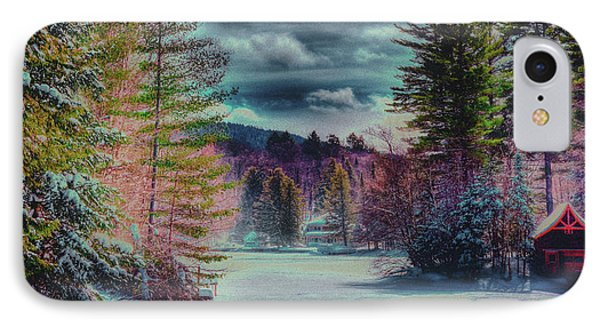IPhone Case featuring the photograph Colorful Winter Wonderland by David Patterson