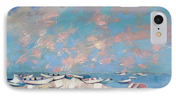 IPhone Case featuring the painting Colors Flamingo by Anastasija Kraineva