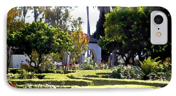 IPhone Case featuring the photograph Colors In The Garden by Glenn McCarthy Art and Photography
