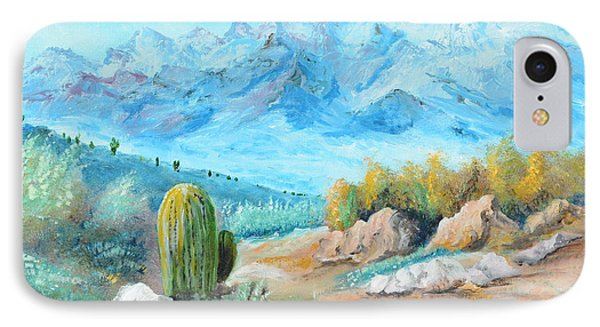 Colors In The High Desert IPhone Case by Lloyd Dobson