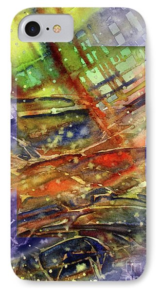 Colors Interrupting IPhone Case by Allison Ashton