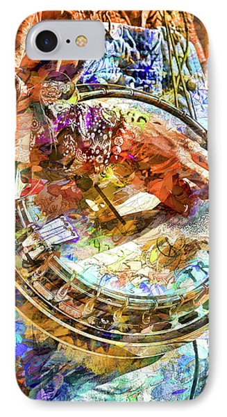 Colors Of A Banjo Busker IPhone Case