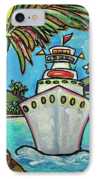 Colors Of Cruising Phone Case by Patti Schermerhorn