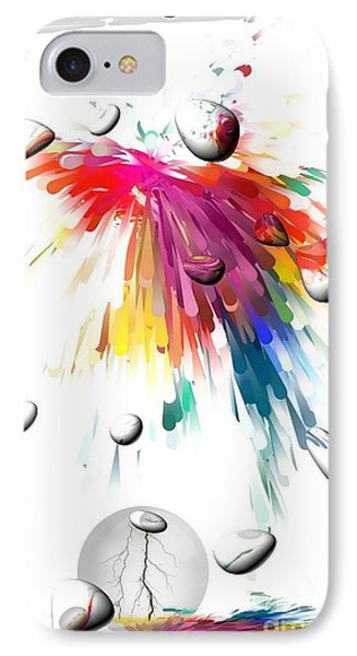 Colors Of Explosions By Nico Bielow IPhone Case by Nico Bielow