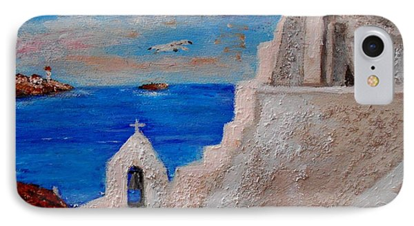 Colors Of Greece IPhone Case