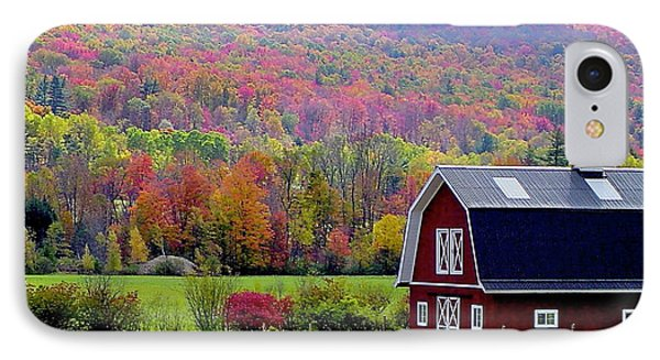 Colors Of New England Phone Case by Rick  Monyahan