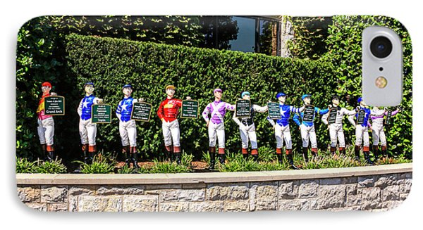 Colors Of Past Stakes At Keeneland Ky IPhone Case by Chris Smith