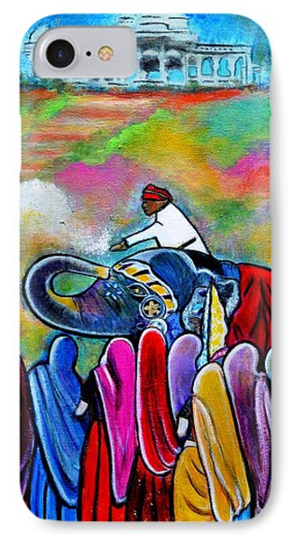 Colors Of Rajasthan IPhone Case