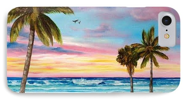 Colors Of Siesta Key IPhone Case by Lloyd Dobson