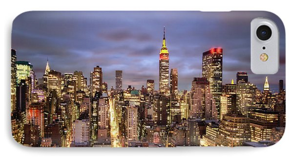 Colors Of The Night Phone Case by Evelina Kremsdorf