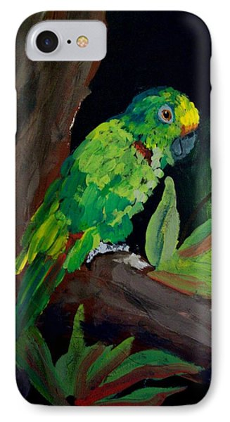 Colors Of The Parrot Phone Case by Michael Grubb