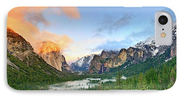 Mountain iPhone 7 Case - Colors Of Yosemite by Jamie Pham