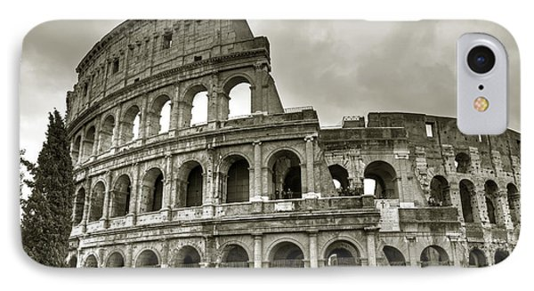 Colosseum  Rome IPhone Case by Joana Kruse