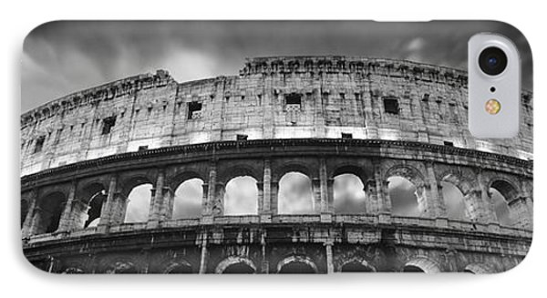 Colosseum - Rome IPhone Case by Rod McLean