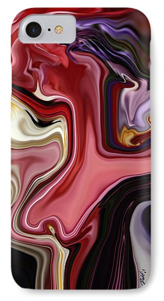 Colour Hair Day  IPhone Case by Rabi Khan