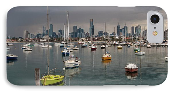 Colour Of Melbourne 2 IPhone 7 Case by Werner Padarin