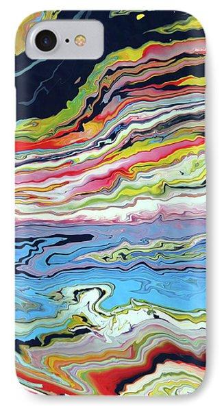 Colour Tide IPhone Case by Christopher Davis