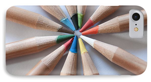 Coloured Pencils 2 IPhone Case