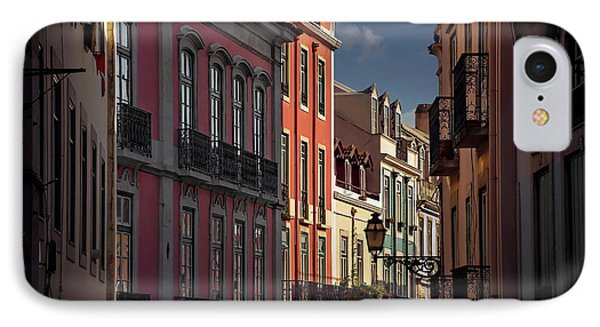 Colourful Architecture In Lisbon Portugal  IPhone Case by Carol Japp