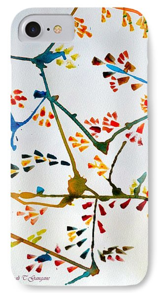 Colourful Blossoms IPhone Case by Sonali Gangane