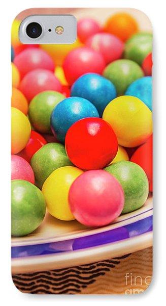 Colourful Bubblegum Candy Balls IPhone Case