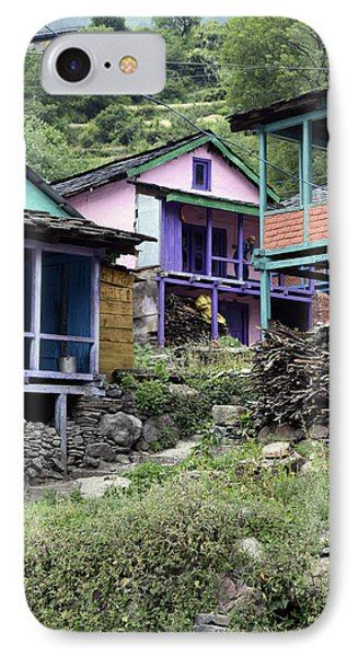 Colourful Houses IPhone Case by Sumit Mehndiratta