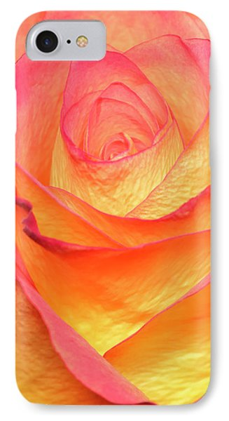 Colourful Rosie IPhone Case by Roy McPeak