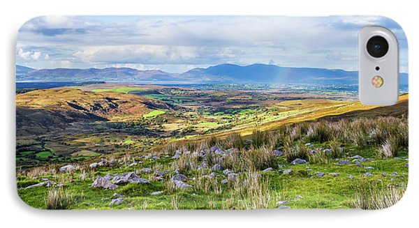 IPhone Case featuring the photograph Colourful Undulating Irish Landscape In Kerry  by Semmick Photo