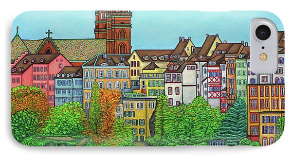Colours Of Basel, Switzerland Phone Case by Lisa Lorenz