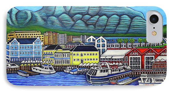 Colours Of Cape Town Phone Case by Lisa Lorenz