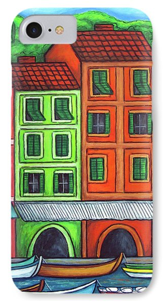 Colours Of Liguria Phone Case by Lisa  Lorenz