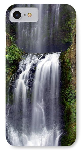 Columba River Gorge Falls 3 Phone Case by Marty Koch