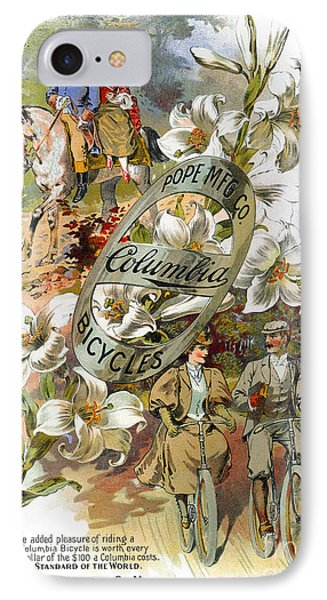Columbia Bicycles Poster Phone Case by Granger
