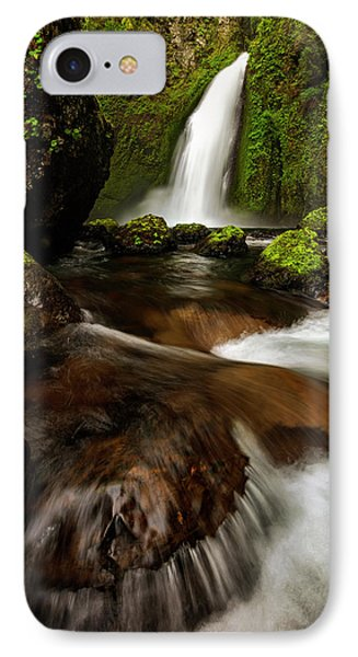 IPhone Case featuring the photograph Columbia Cleft by Mike Lang