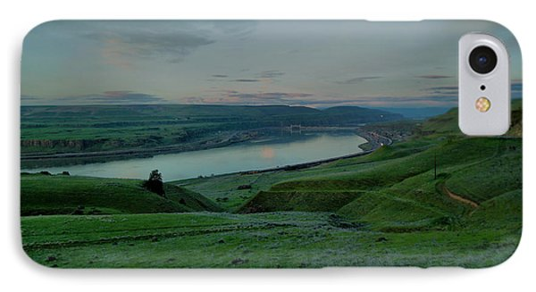 IPhone Case featuring the photograph Columbia Gorge In Early Spring by Jeff Swan