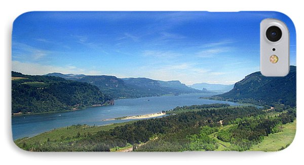 IPhone Case featuring the photograph Columbia Gorge by Irina Hays
